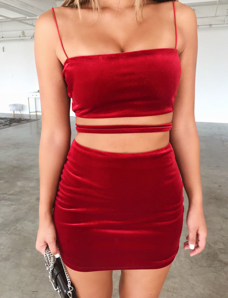 Candice Dress - Red