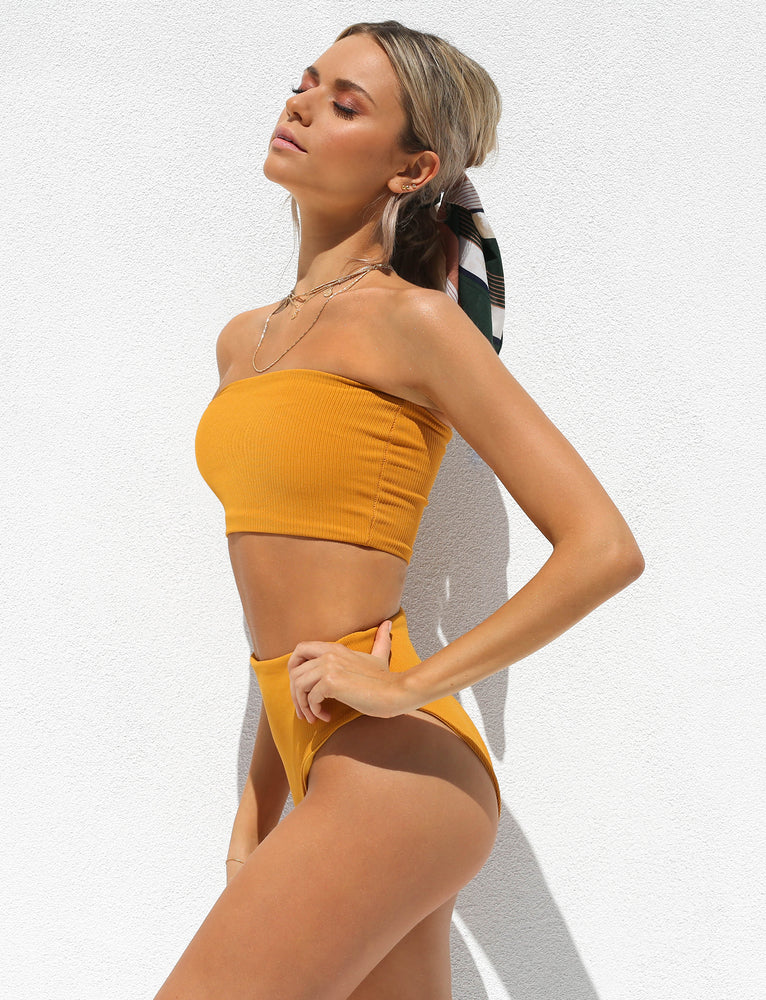 Holly Two Piece - Mustard