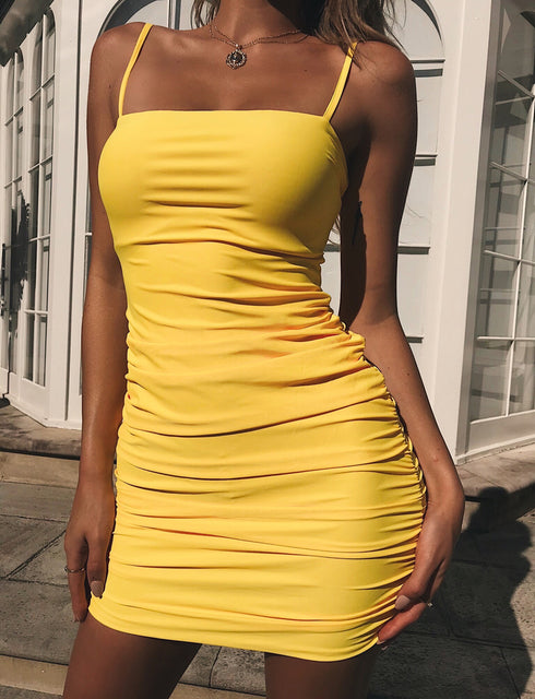 Sunrise Dress - Yellow