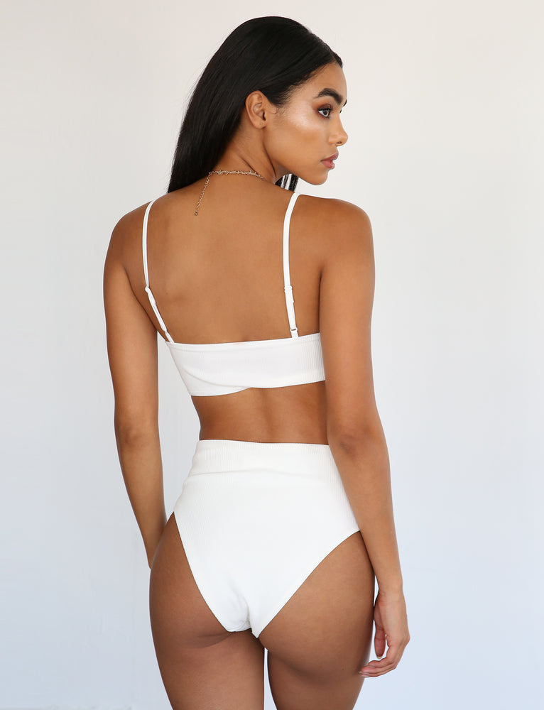 Moroccan Two Piece - White