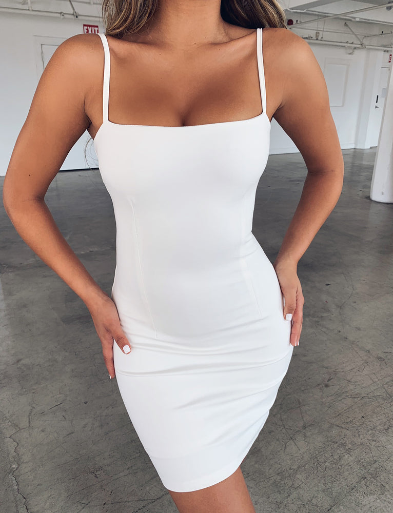 Take On Dress - White