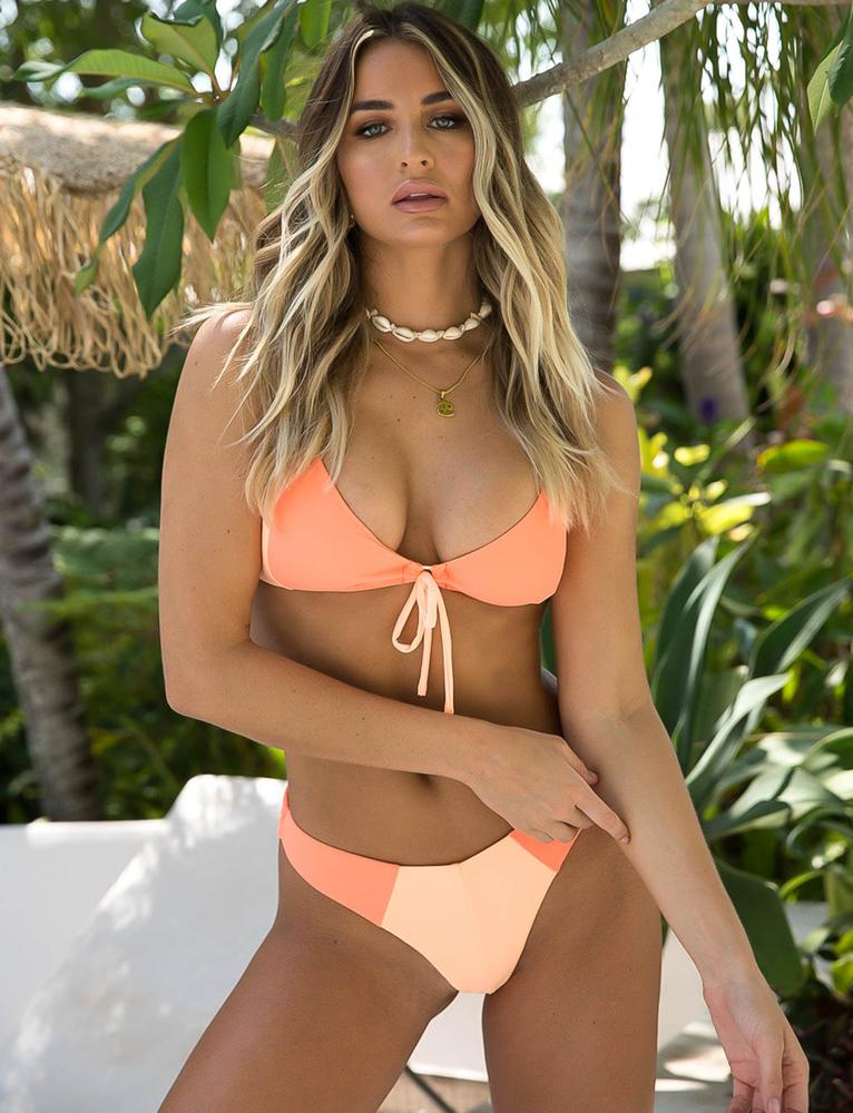 Sola Bikini Top - Orange