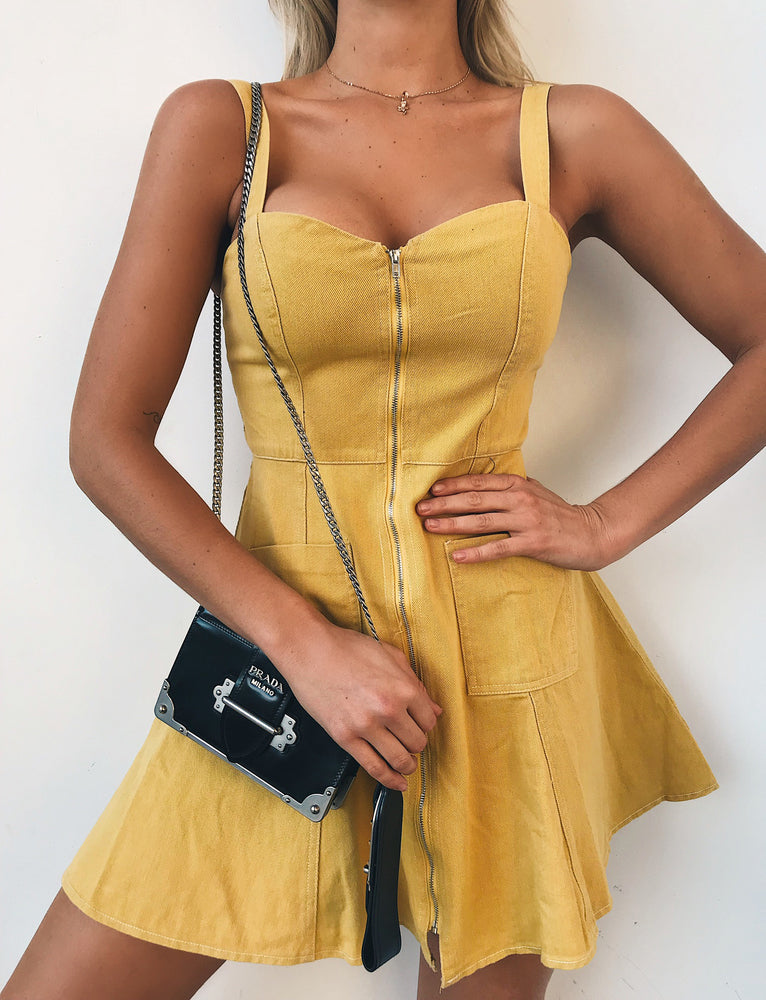 Windsor dress - Yellow