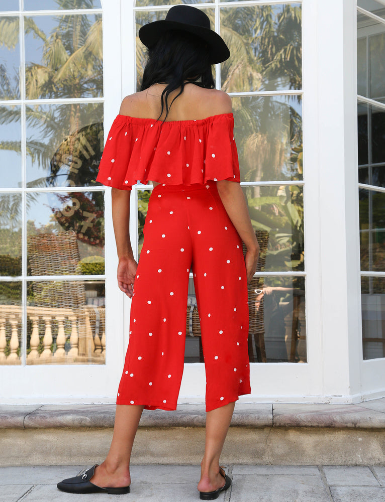 Silent Storm Two Piece - Red