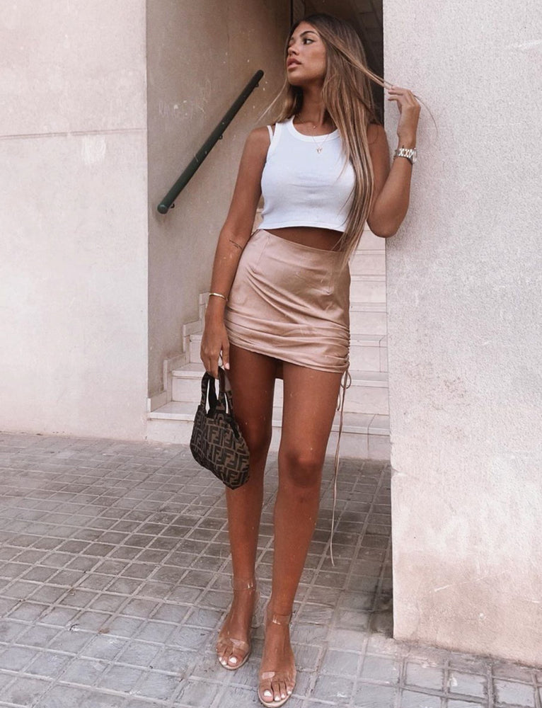 Rue Skirt - Tan