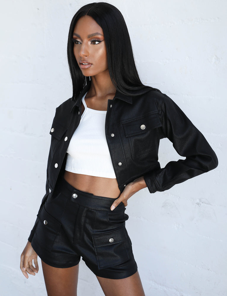 Dinora Jacket - Black
