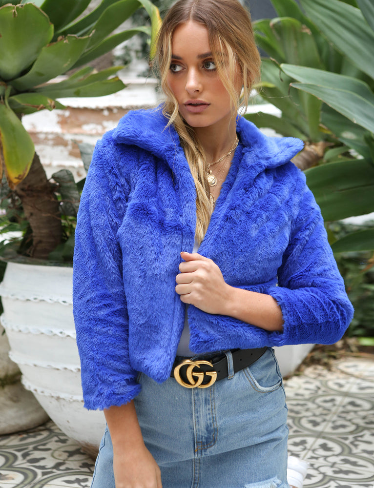 Frankie Coat - Blue