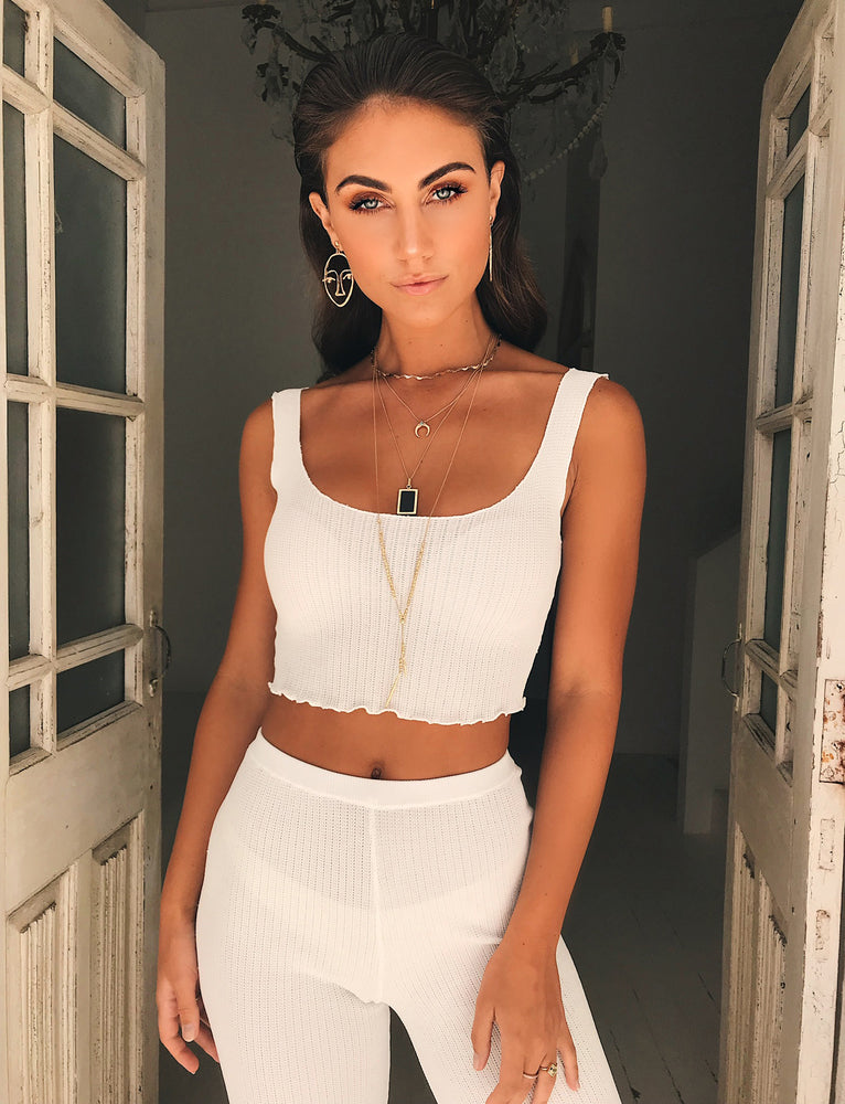 Ruby Top - White