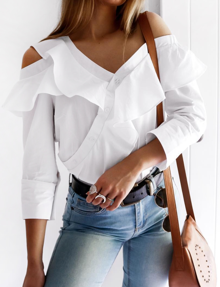 Riviera Shirt - White