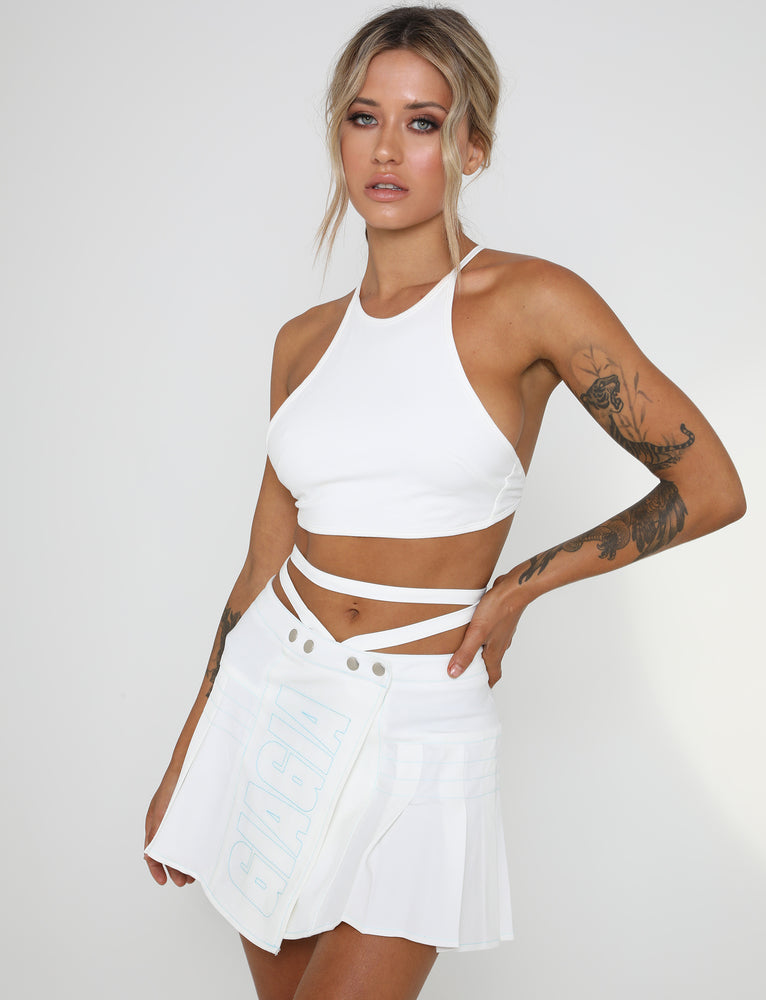 Esme Skirt - White
