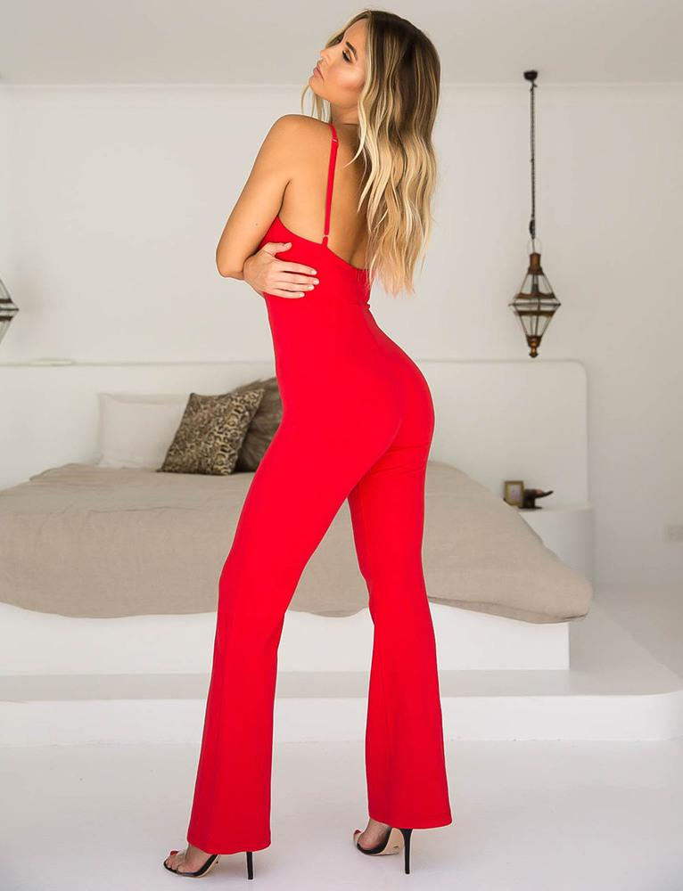 Malta Jumpsuit - Red