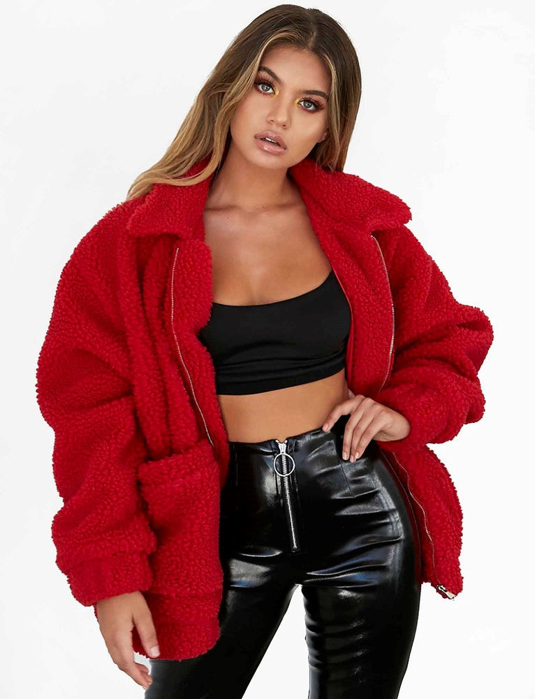 Pixie Jacket - Red