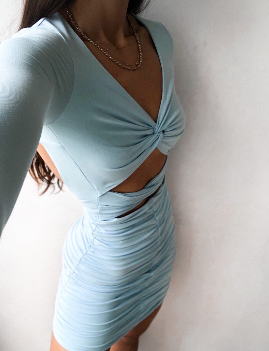 Mariana Dress - Blue