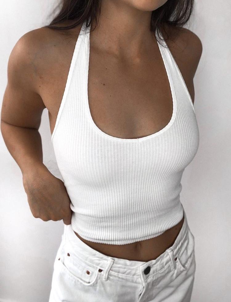 Bryn Top - White