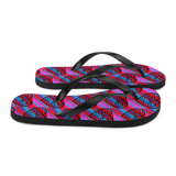 """Heart of 22 Loves"" Flip-Flops/Slippers, Unisex"