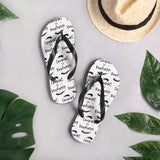 """Commit to Kindness"" Flip-Flops for men and women"