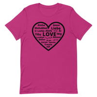 """Heart of 22 Loves"" Short-Sleeve Unisex T-Shirt"