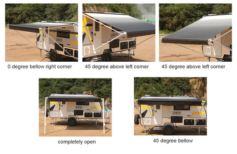 17ft Replacement Roll Out Caravan Awning Vinyl, Suit Dometic, Carefree, Aussie Traveller