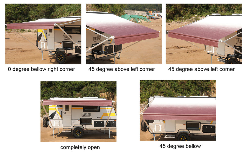 10ft Replacement Roll Out Caravan Awning Vinyl, Suit ...