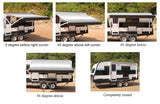 11ft Replacement Roll Out Caravan Awning Vinyl, Suit Dometic, Carefree, Aussie Traveller