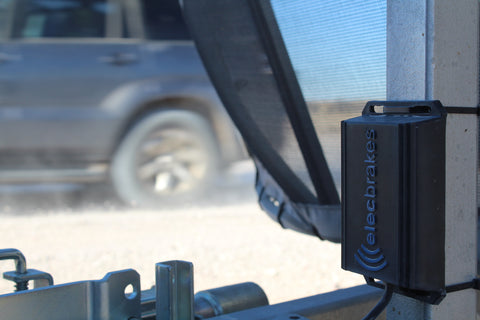 ElecBrakes Wireless Trailer Mounted Electric Brake Controller ADR Compliant