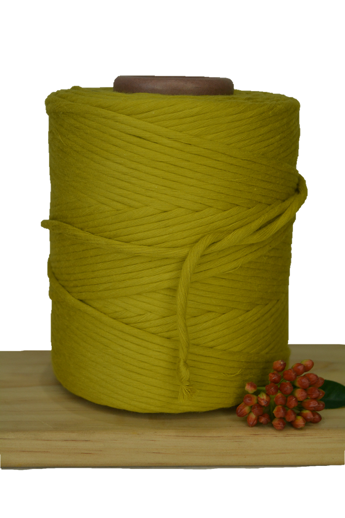 1kg 5mm 100% Pure Deluxe Cotton 1ply String - Tuscan Sun