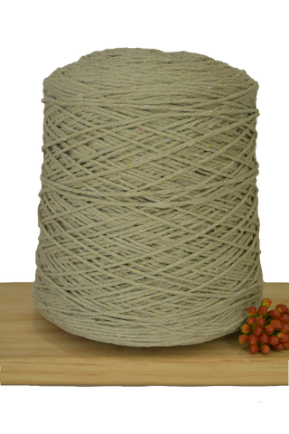 1kg Coloured 1ply Cotton Warping String - 1mm - Dove