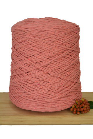 1kg Coloured 1ply Cotton Warping String - 1mm - Guava