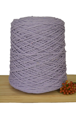 1kg Coloured 1ply Cotton Warping String - 1.5mm - Lavender