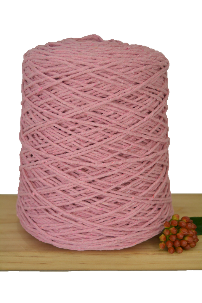 1kg Coloured 1ply Cotton Warping String - 1.5mm - Musk