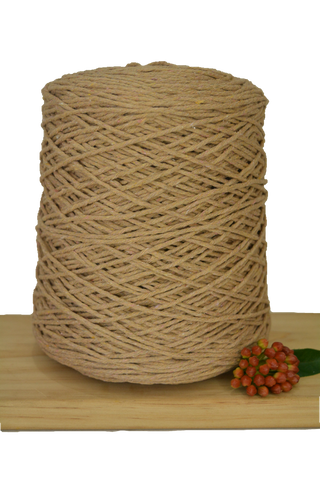 1kg Coloured 1ply Cotton Warping String - 1.5mm - Nude