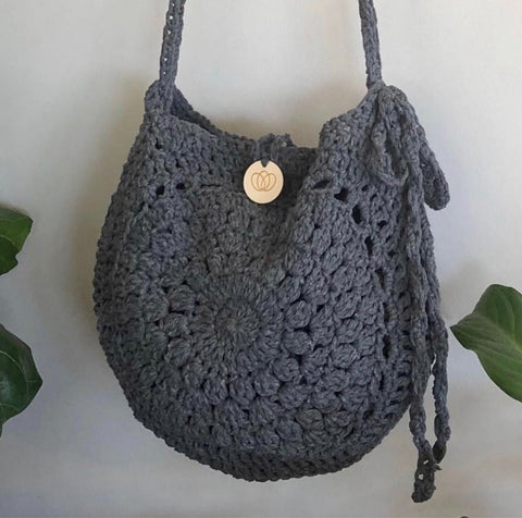 Boho Crochet Bag Pattern Kit