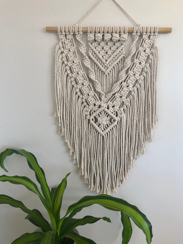 Macrame Wall Hanging Class - Thursday 14th March 6.30-9.30pm $75.00 - Booking deposit required of $25.00 Class held at Fiori 49 Marine Tce Geraldton WA