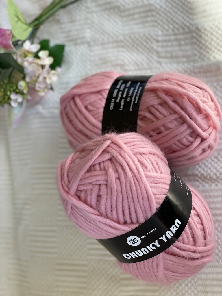 Chunky Yarn - Dusty Pink
