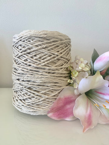 1kg Natural 1ply Cotton String - 3mm