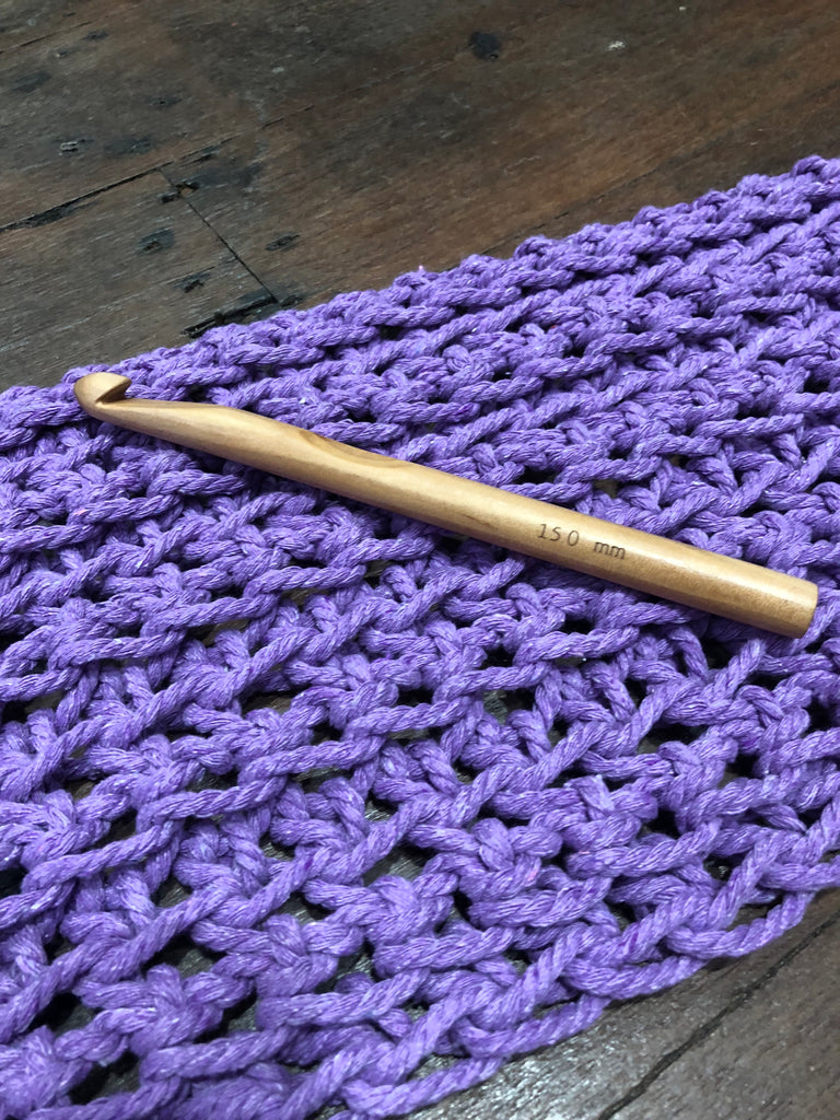 Crochet Hook - 15mm - Wood