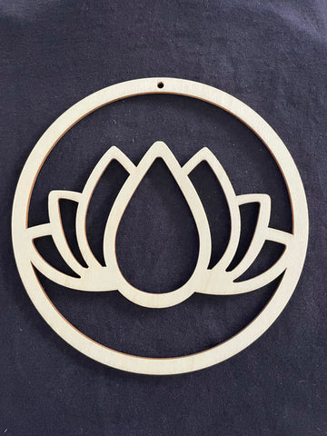 Bamboo Frame - Lotus - Pack of 5
