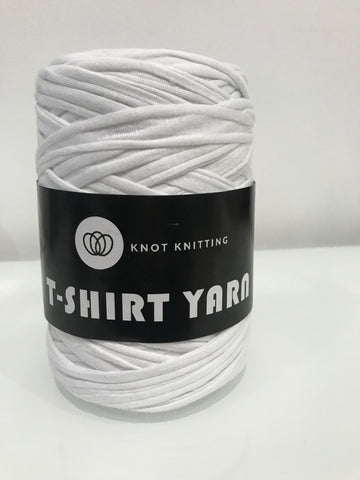 T-Shirt Yarn - 500g - White
