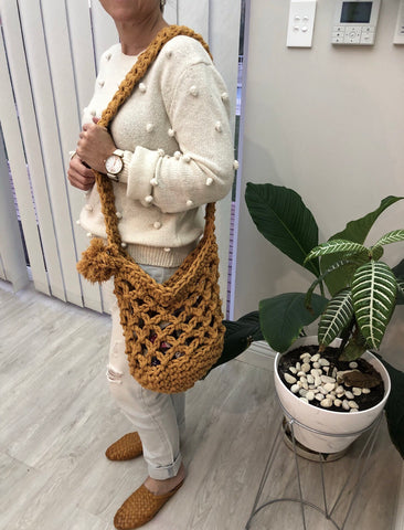 Spiced Up Market Bag Crochet Pattern