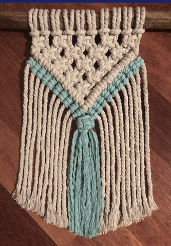 Macrame Mini Wall Hanging Pattern
