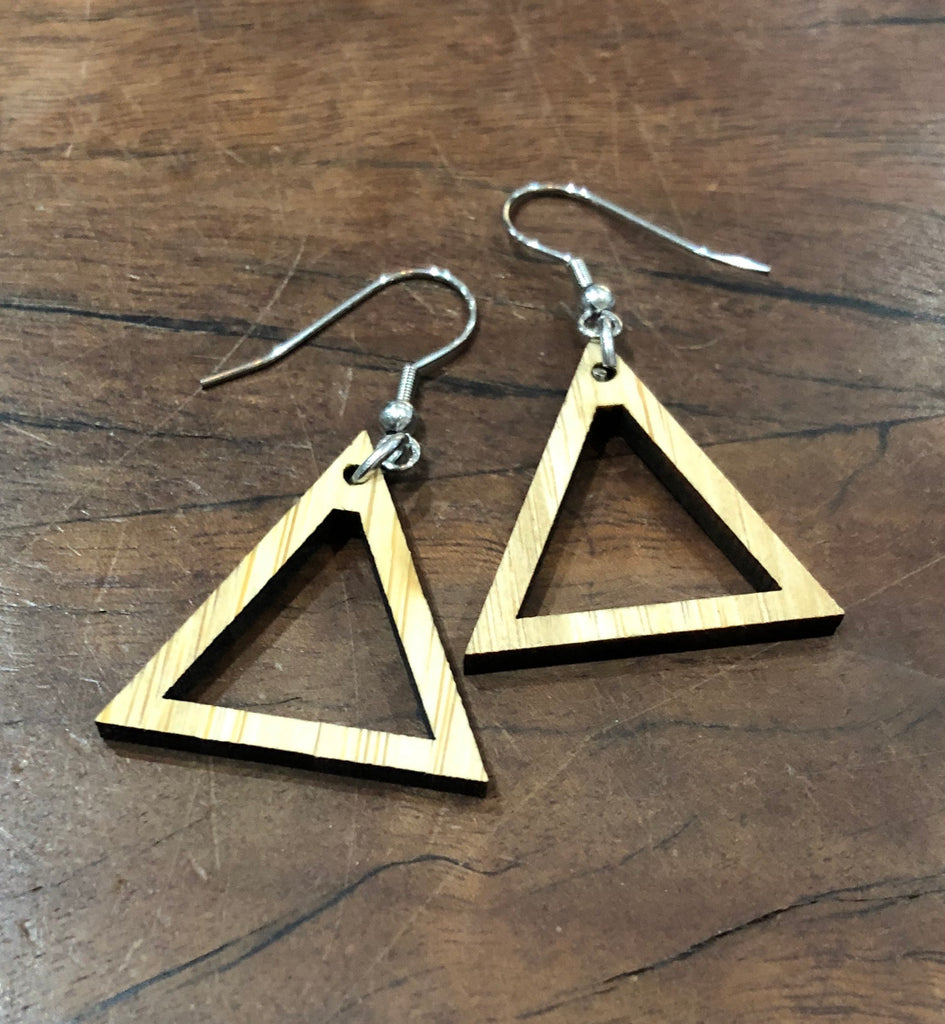 Earrings Frame - Triangle - 5 pair pack