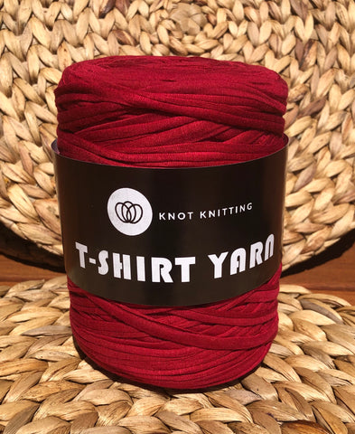 T-Shirt Yarn - 500g - Red