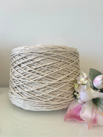 2.5kg Natural 1ply Cotton String - 3mm