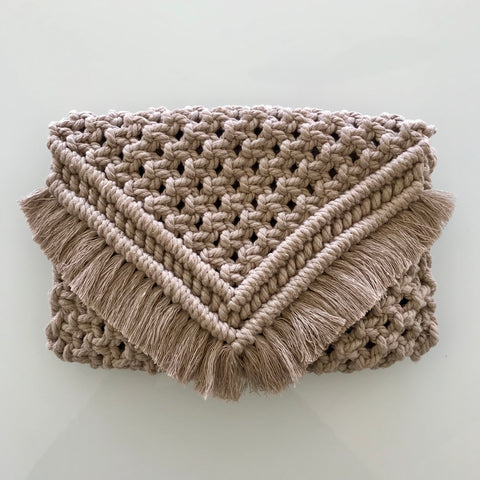 Charity Macrame Clutch Purse