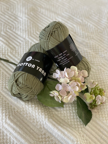 Cotton Yarn - Sage