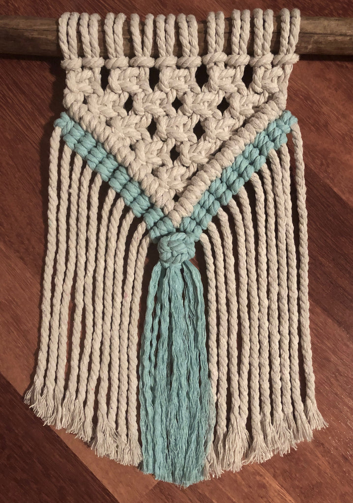"Macrame Mini Wall Hanging DIY Kit - ""Addie"""