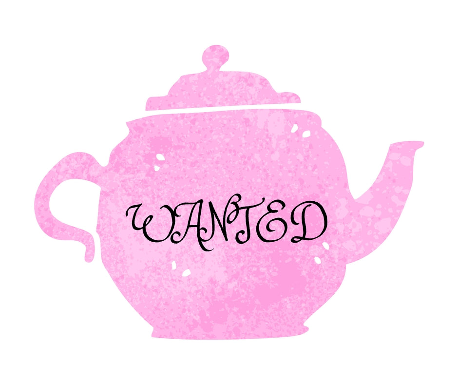 Do you have any teacups or teapots you no longer use?