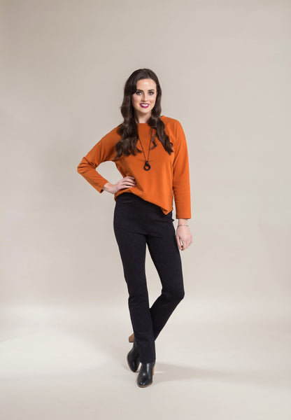 VASSALLI SLIM LEG FULL LENGTH PONTI PULL ON 234 - Nunie