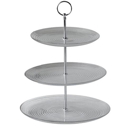 3 Tier Glass Plate Holder