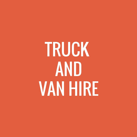 Truck Hire and Van Hire
